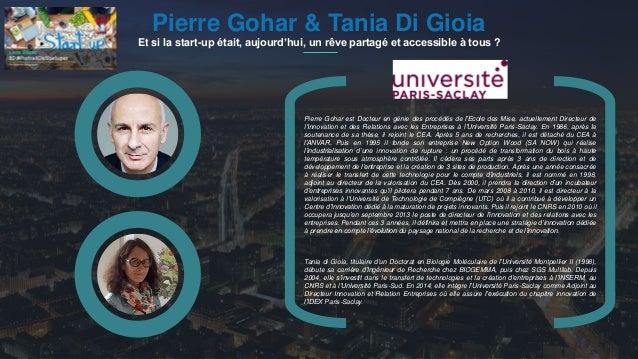 #PortraitDeStartuper 1Pierre Gohar & Tania Di Gioia Et si la start-up était, aujourd'hui, un rêve partagé et accessible à ...