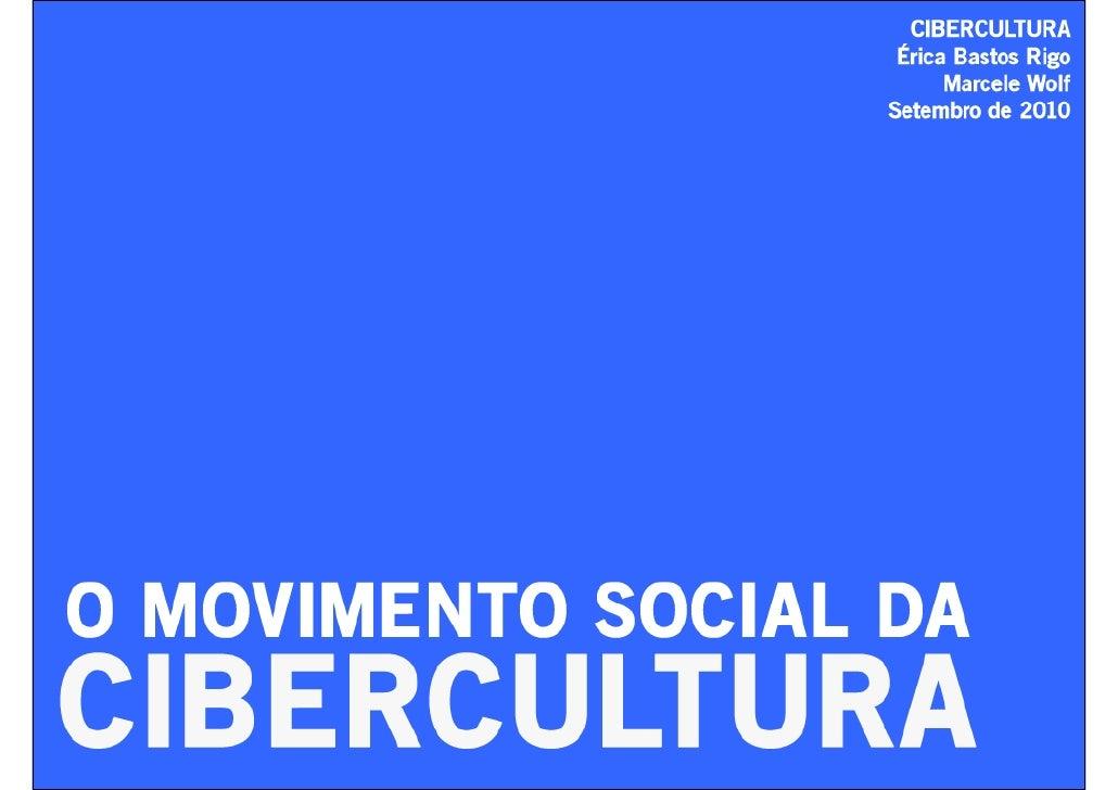 Pierre Lévy - O movimento social da cibercultura