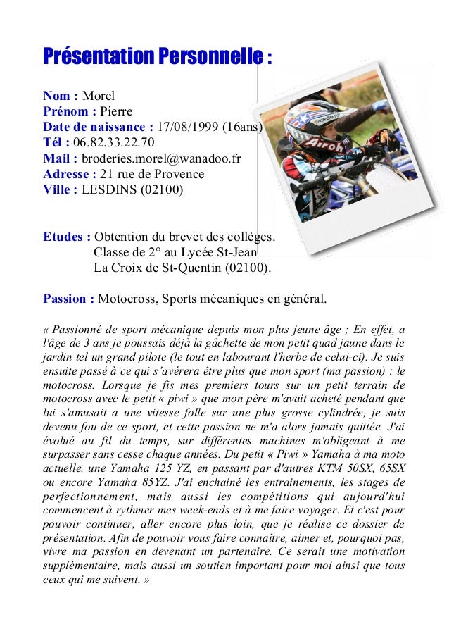 pierre morel motocross book sponsoring 2016