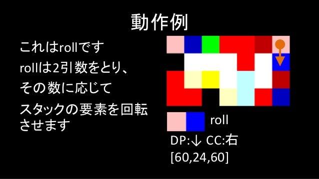 modは剰余を返します 動作例 DP:↓ CC:右 [60,24] mod
