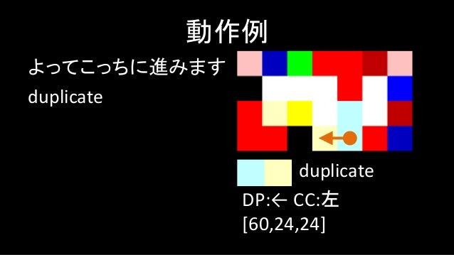 push 3 動作例 DP:→ CC:左 [60,24,24,3] push
