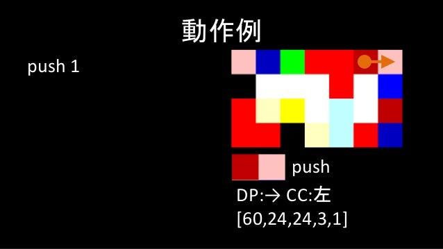 mod 動作例 DP:↓ CC:右 [24,12] mod
