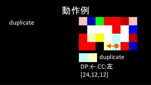 push 3 動作例 DP:→ CC:左 [24,12,12,3] push
