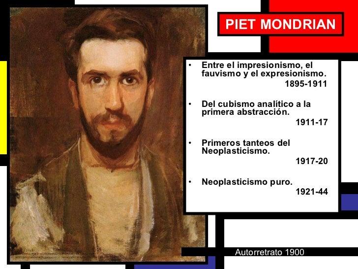 Piet Mondrian, 1872 1944. Slide 2