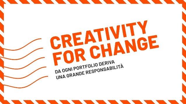Pietro Gregorini - Solo in Cartolina: creativity for change Slide 2