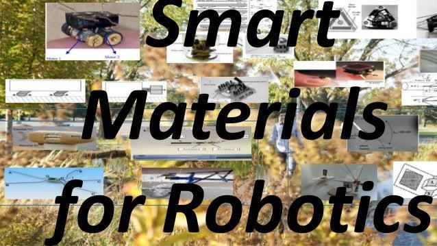 Smart Materials for Robotics