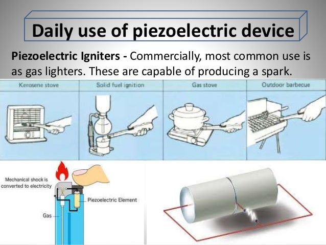 Piezoelectric Materials And Applications