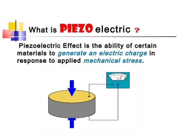 Piezoelectric effect hana basheer