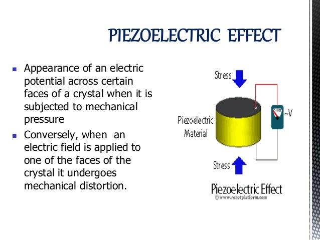 Piezo electric transducer