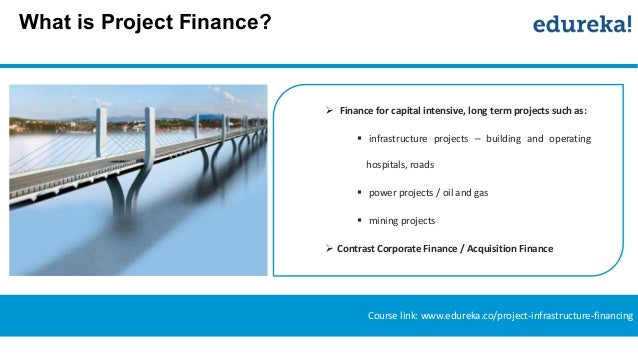 "an overview of project finance and The wharton school project finance teaching note - 2 i definition of project finance the term ""project finance"" is used loosely by academics, bankers and journalists to."