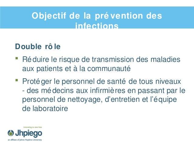 Prévention des infections et gestion des déchets Slide 2