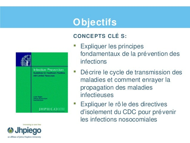 Prévention des infections et gestion des déchets Slide 3