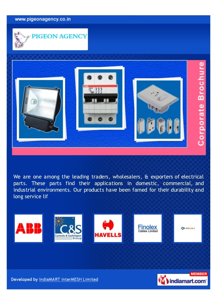 We are one among the leading traders, wholesalers, & exporters of electricalparts. These parts find their applications in ...