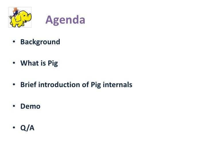 Pig: Data Analysis Tool in Cloud  Slide 2
