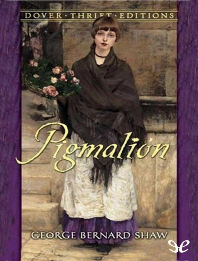 En esta famosa obra teatral de Shaw, la joven florista de Covent Garden Eliza Doolitle se presenta ante el especialista en...