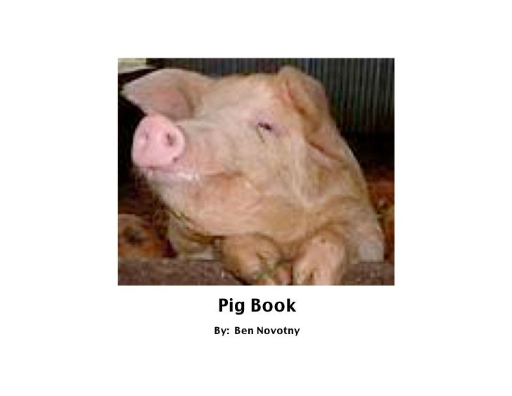 Pig Book By: Ben Novotny