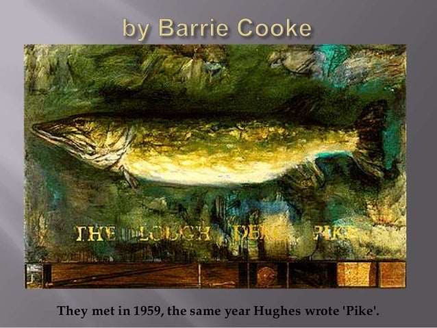 pike ted hughes analysis