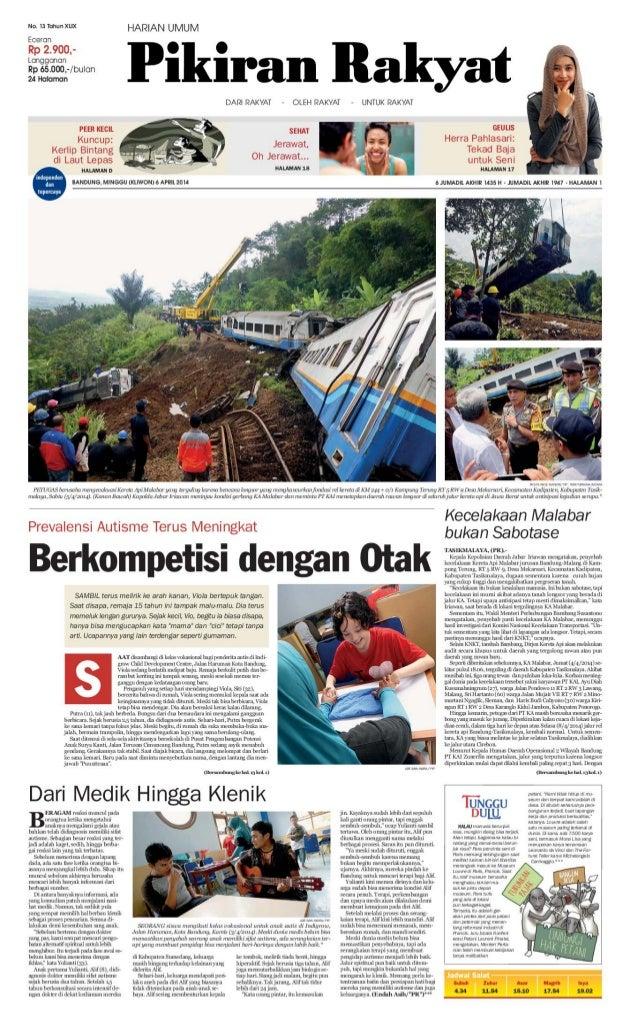 Pikiran Rakyat 6 April 2014