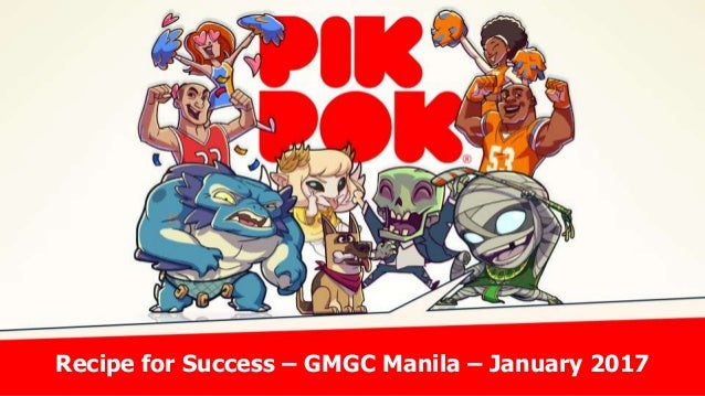 Recipe for Success – GMGC Manila – January 2017