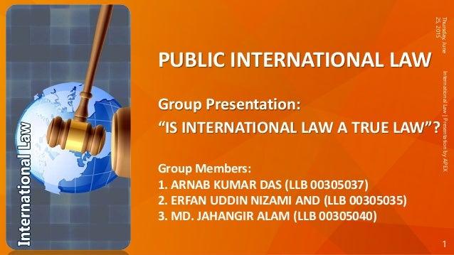 International law essays