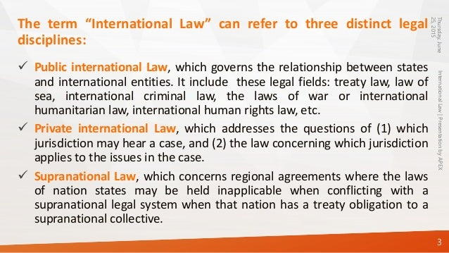 is international law a true law   internationallaw presentationbyapex 3