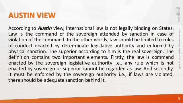 international law as law essay International law is the set of rules generally regarded and accepted as binding in relations between states and between nations it serves as a framework for the practice of stable and organized.