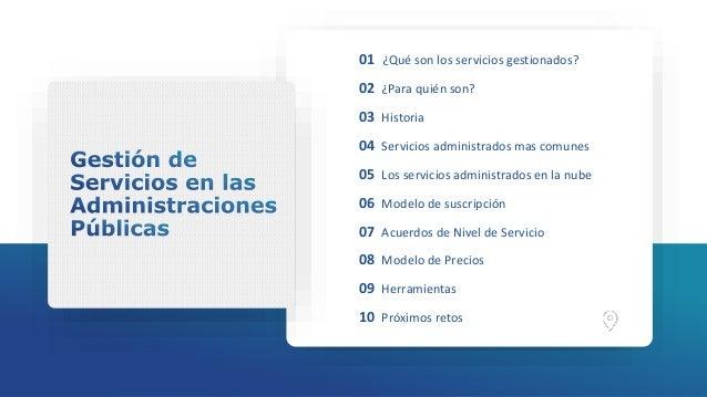 Pilar Herrero - Gestión de Servicios en las Administraciones Públicas Slide 2