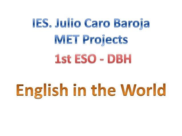 1st DBH - MET PROJECTS