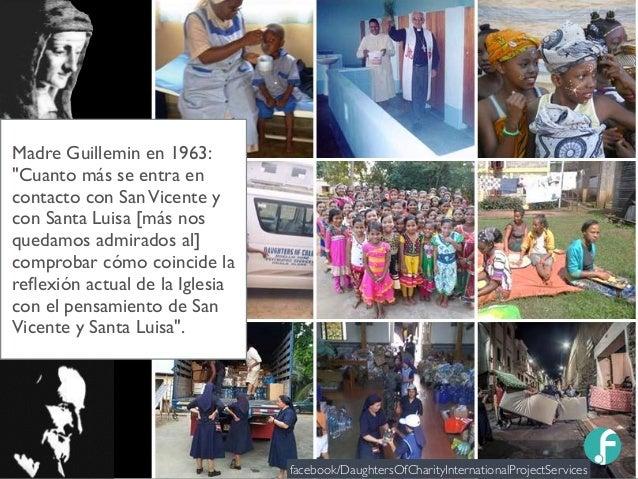 """Madre Guillemin en 1963: """"Cuanto más se entra en contacto con SanVicente y con Santa Luisa [más nos quedamos admirados al]..."""