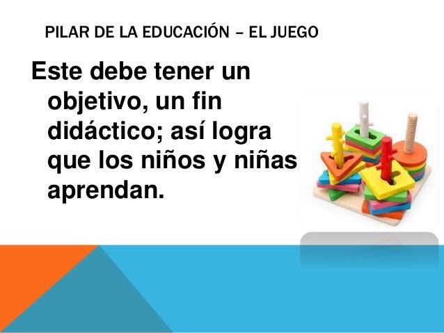 Pilares de la educación Slide 3