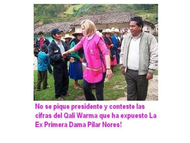 Ex Primera Dama Pilar Nores