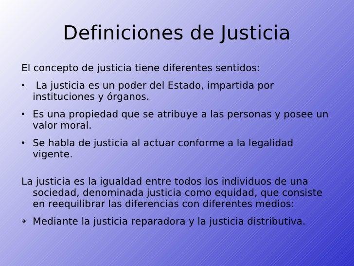 DEFINICIONES DE JUSTICIA EPUB