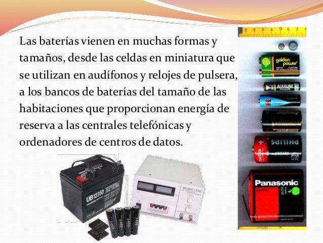 Pilas baterias y acumuladores for Tamanos de pilas