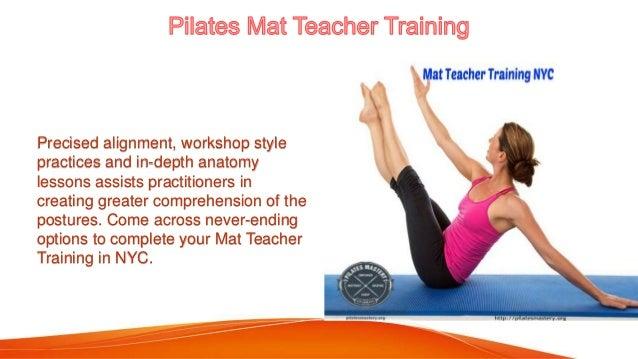 Pilates Mastery - Pilates Teacher Certification NYC
