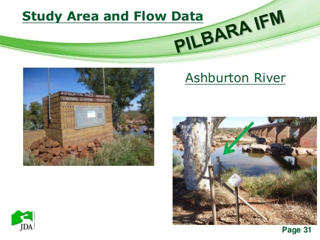 Study Area and Flow Data          Free Powerpoint Templates                               Ashburton River                 ...
