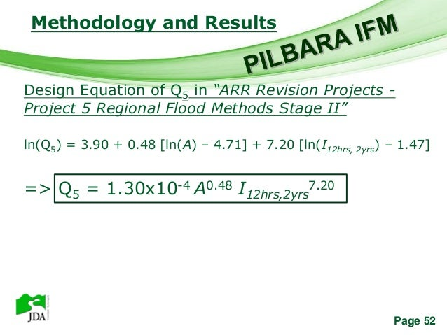 """Methodology and Results                   Free Powerpoint TemplatesDesign Equation of Q5 in """"ARR Revision Projects -Projec..."""