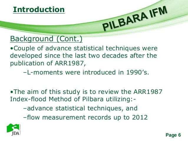 Introduction               Free Powerpoint TemplatesBackground (Cont.)•Couple of advance statistical techniques weredevelo...