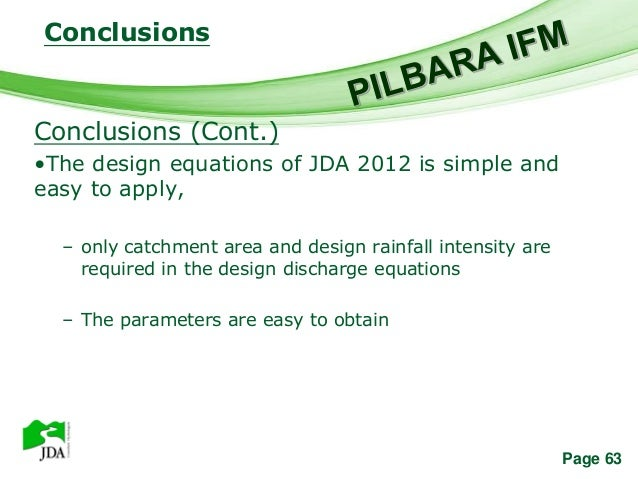 Conclusions                 Free Powerpoint TemplatesConclusions (Cont.)•The design equations of JDA 2012 is simple andeas...