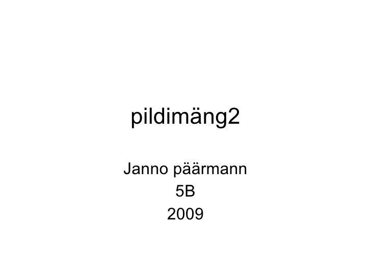 pildimäng2 Janno päärmann 5B 2009