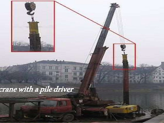 Foundation & Pile driving equipment