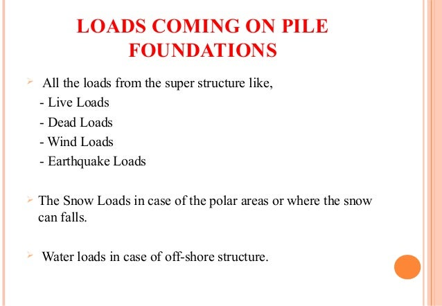 TYPES OF PILE FOUNDATION & APPLICATIONS