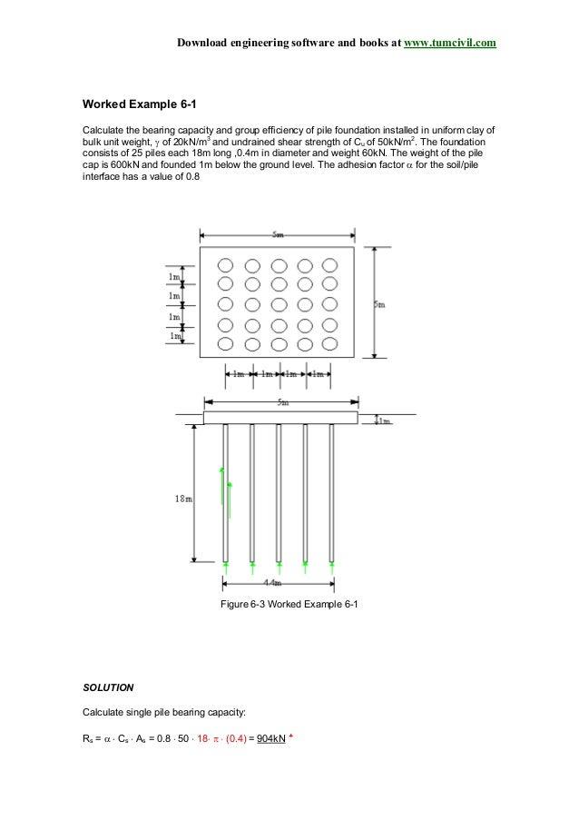 Pile Group Design Software
