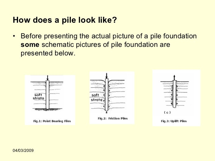 Seminar Report on Pile Foundation
