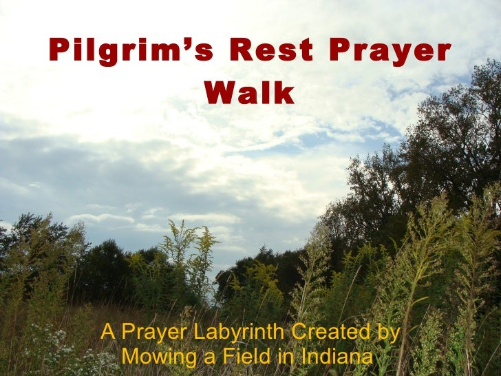 Pilgrim's Rest Prayer Walk A Prayer Labyrinth Created by Mowing a Field in Indiana