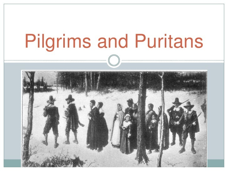 An introduction to the history of the puritans