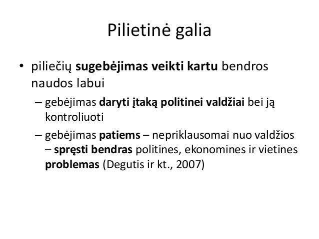 Pilietine galia ir asmenybe Slide 2