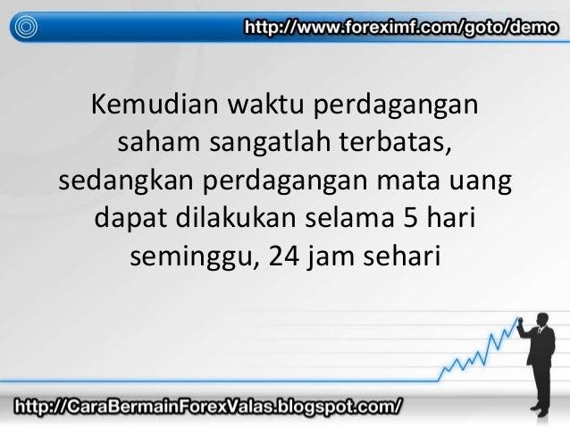 Bermain forex dan saham