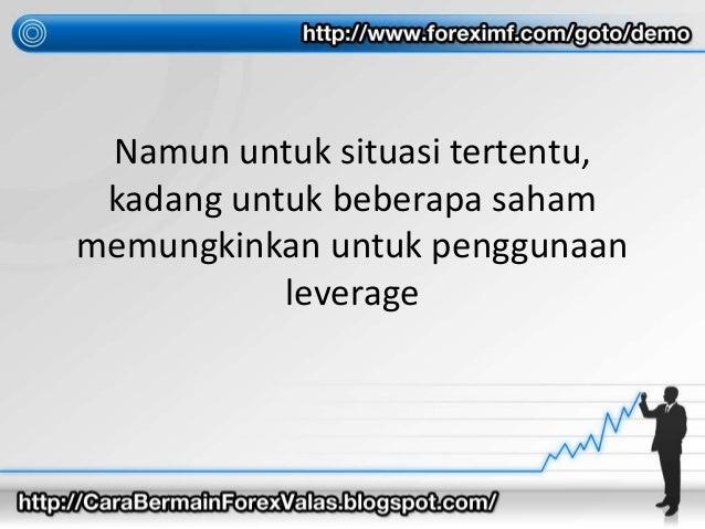 Leverage forex untuk pemula