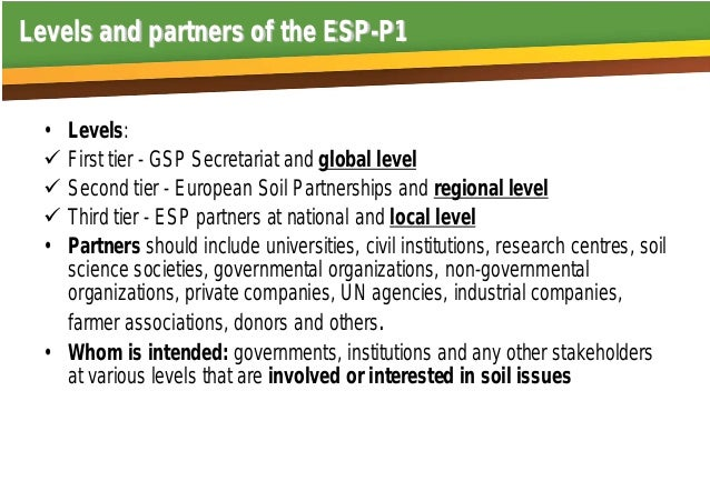 Sustainable Soil Management in Europe Plan of actions of the Pillar 1   Jaroslava Sobocká National Agricultural and Food Centre Soil Science and Conservation Research Institute Bratislava Slovakia Slide 2
