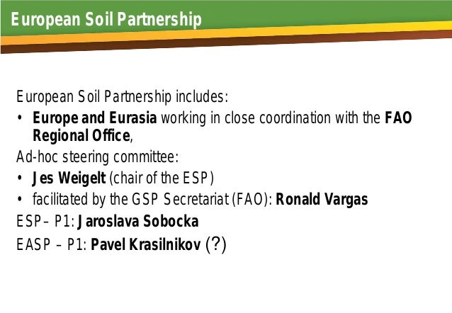 Sustainable Soil Management in Europe Plan of actions of the Pillar 1   Jaroslava Sobocká National Agricultural and Food Centre Soil Science and Conservation Research Institute Bratislava Slovakia Slide 3